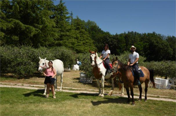 Escursioni a cavallo alla Tenuta